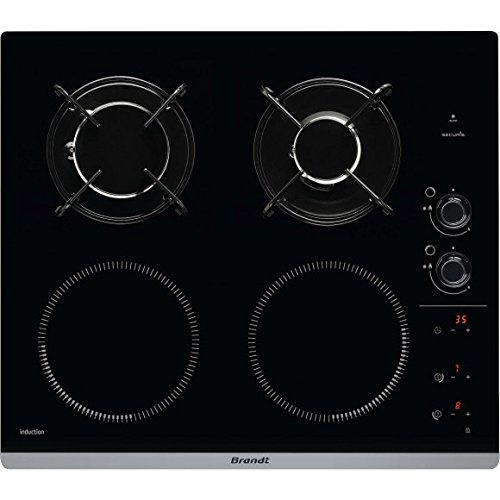 Plaque de cuisson combi gaz induction