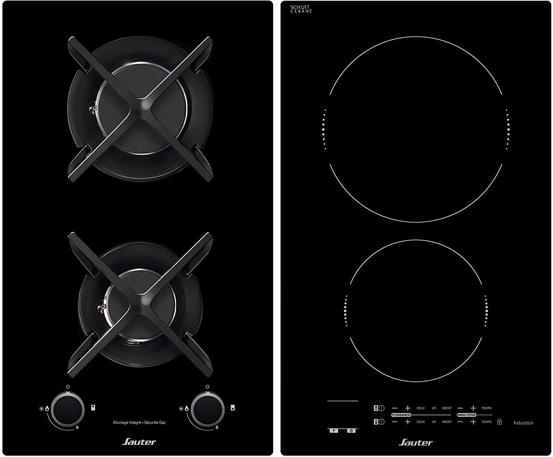 Cuisine Au Gaz Ou Induction table de cuisson mixte gaz induction